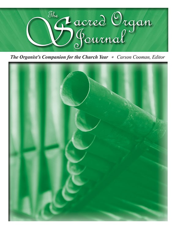 Sacred Organ Journal