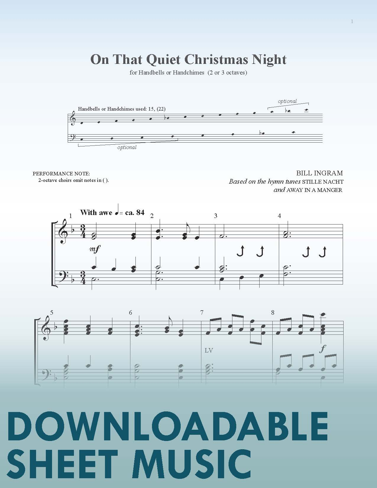 On That Quiet Christmas Night (Digital Download)