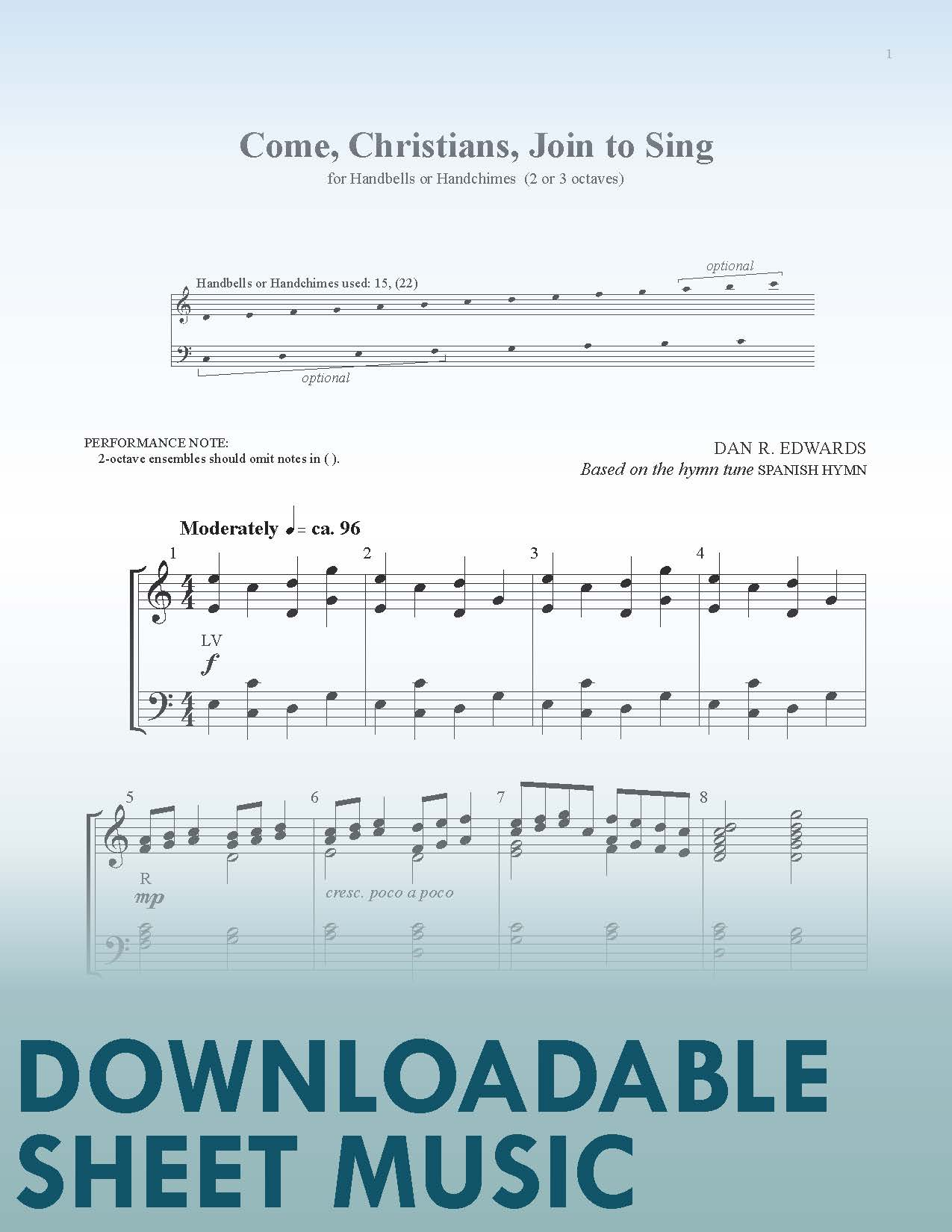 Come, Christians, Join to Sing - Digital Download