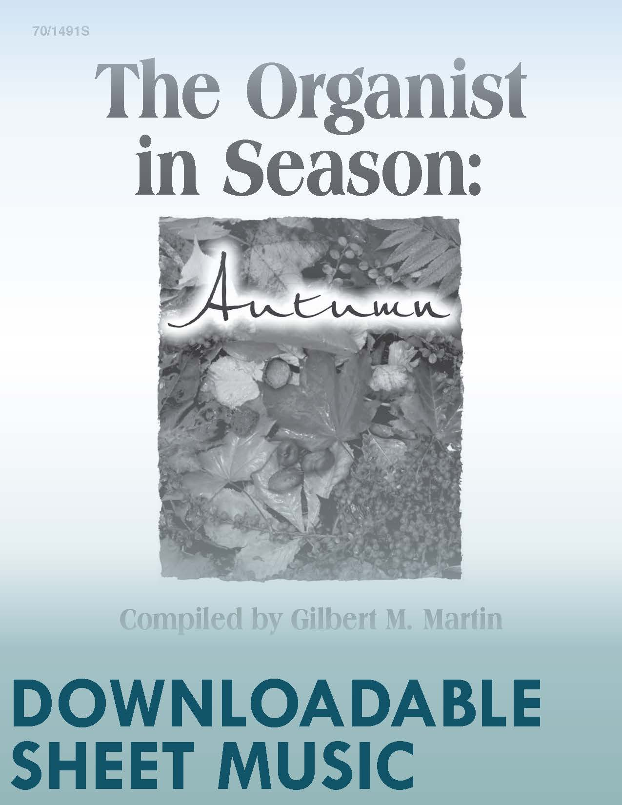 The Organist in Season: Autumn - Digital Download