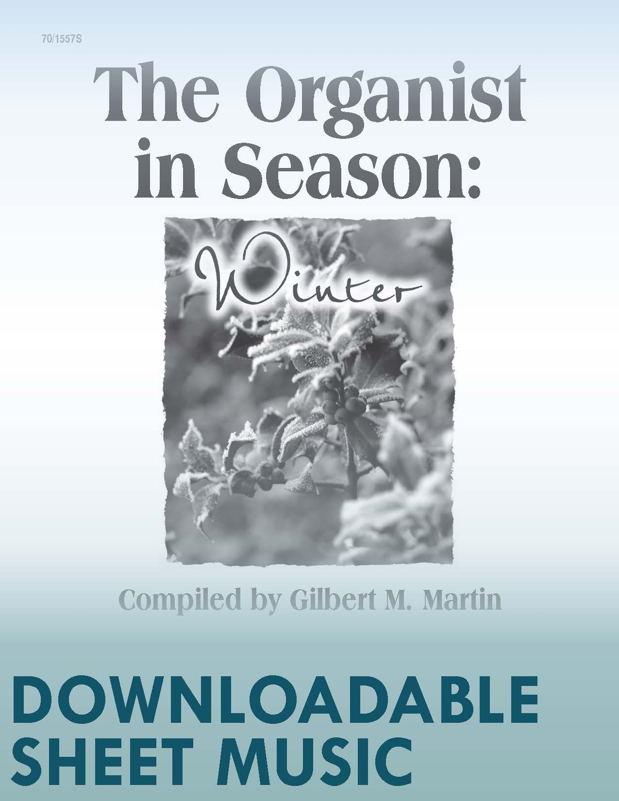 The Organist in Season: Winter - Digital Download