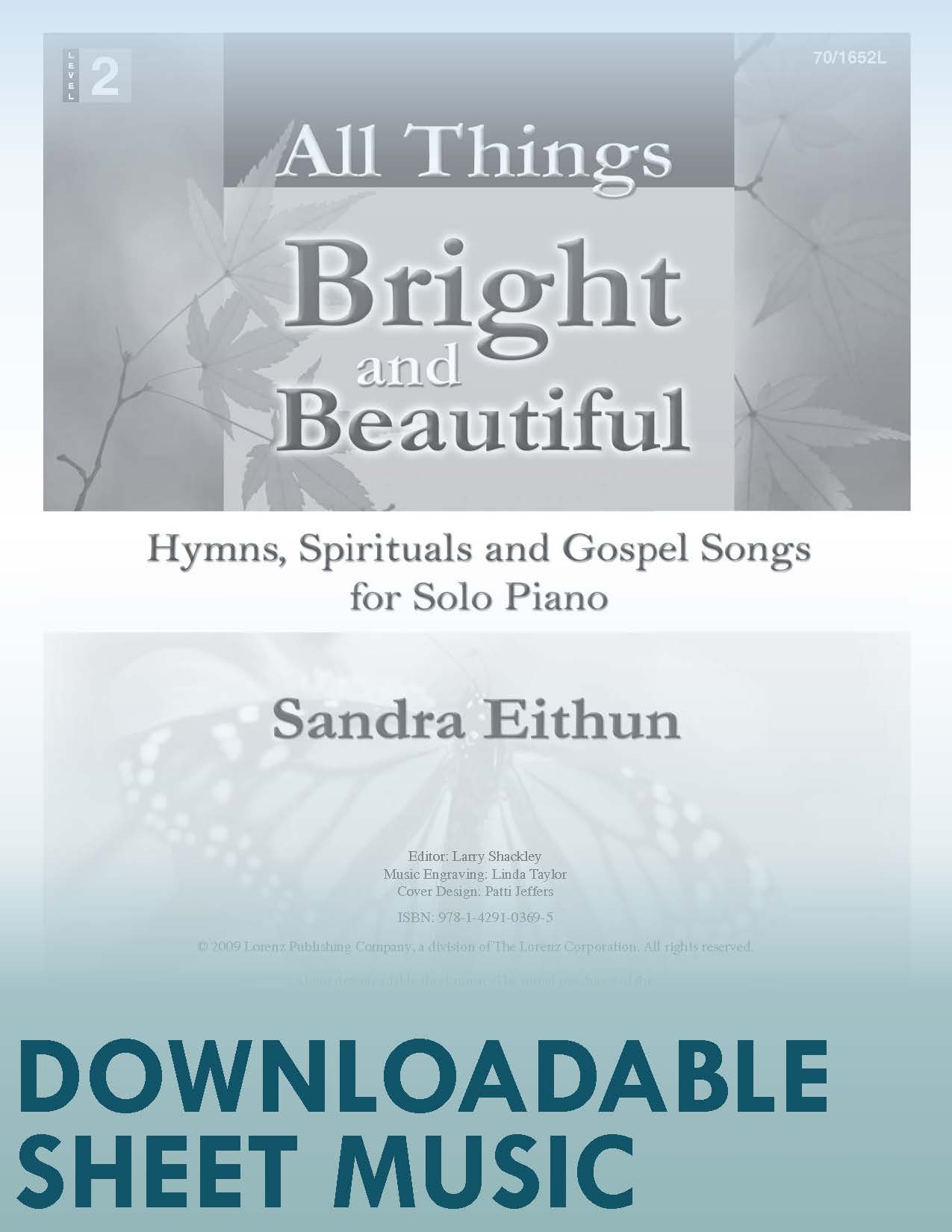 All Things Bright and Beautiful - Digital Download