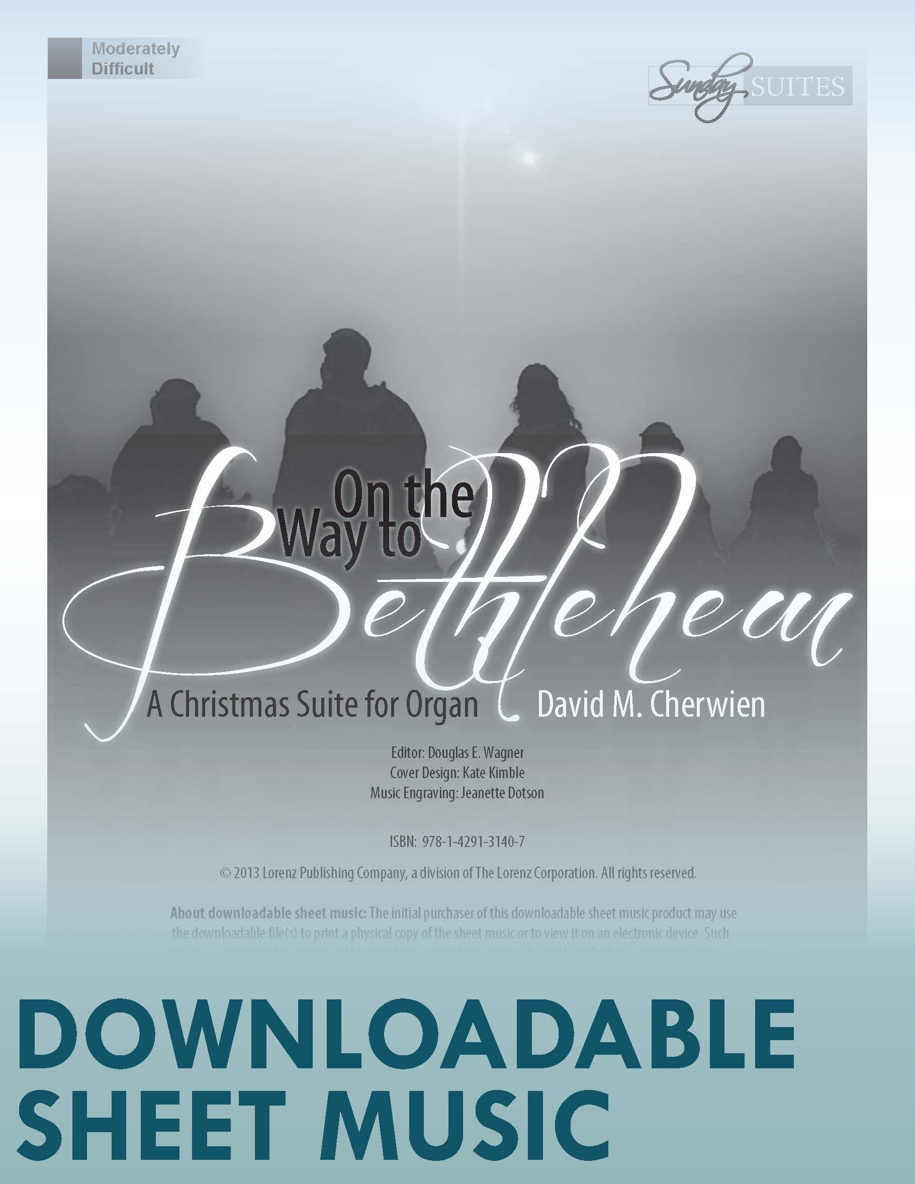 On the Way to Bethlehem - Digital Download