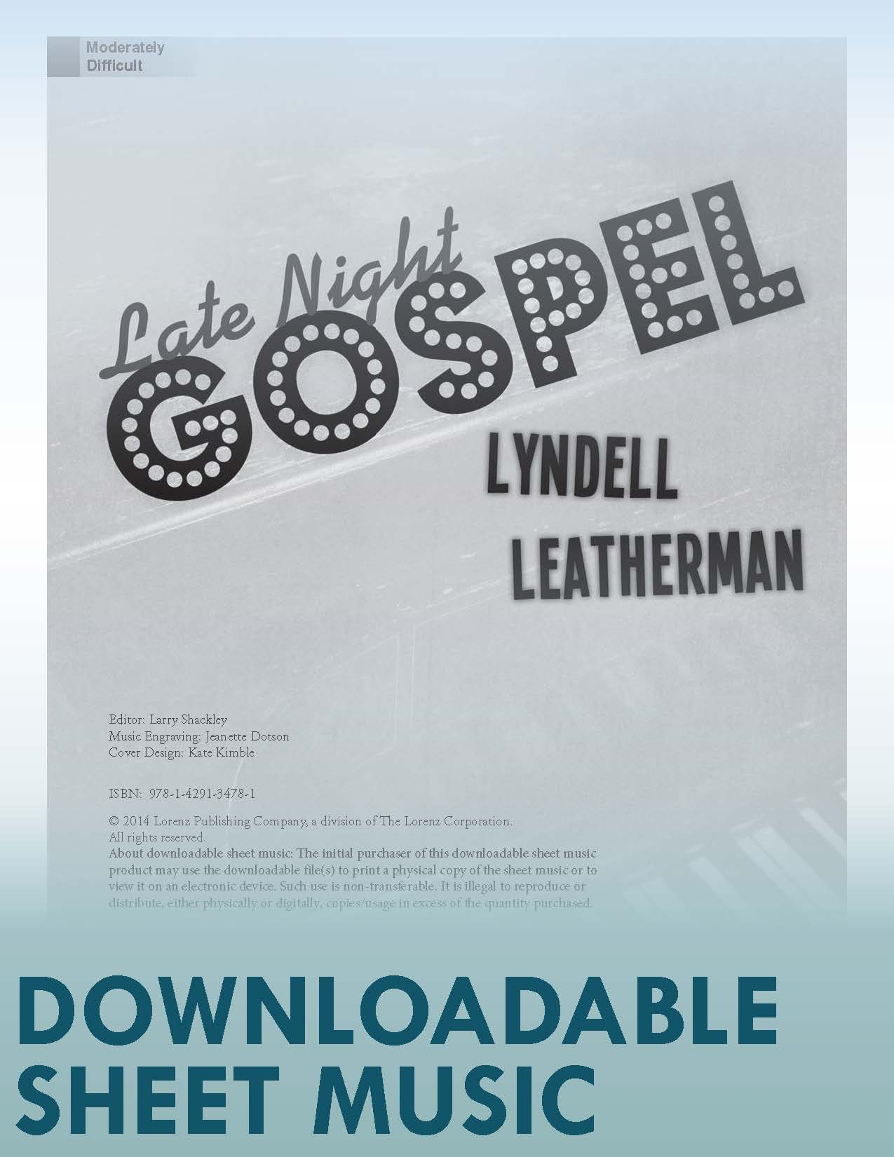 Late Night Gospel Digital Download