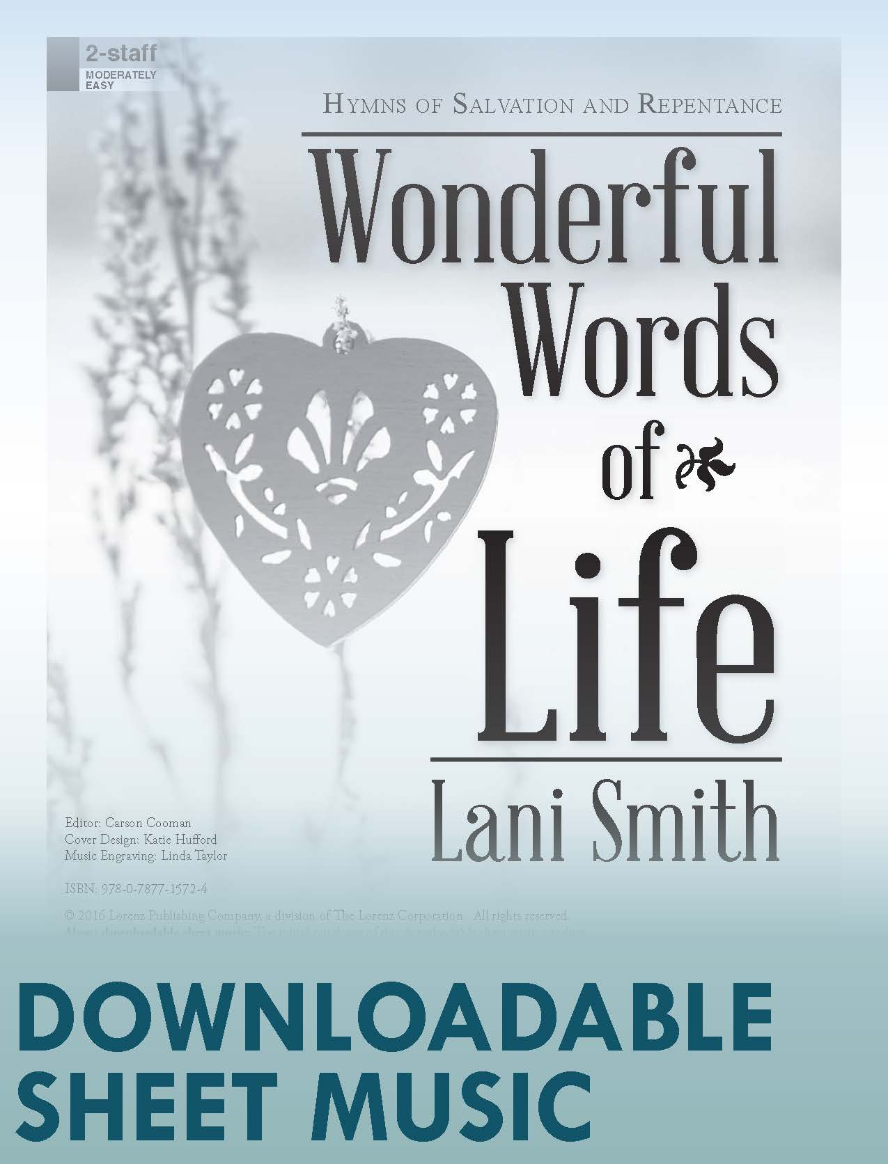 Wonderful Words of Life - Digital Download