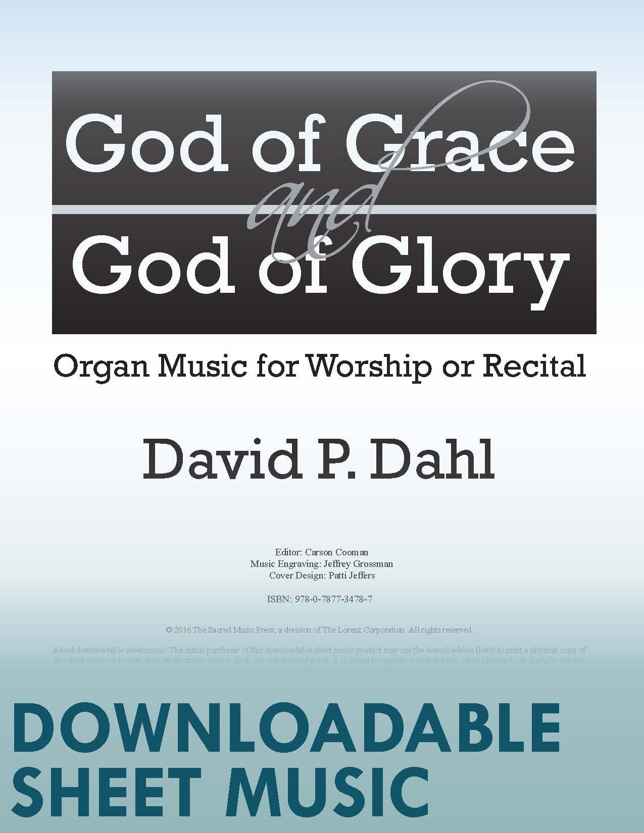 God of Grace and God of Glory - Digital Download