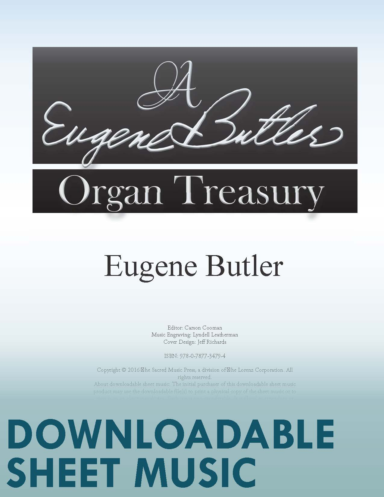 A Eugene Butler Organ Treasury - Digital Download