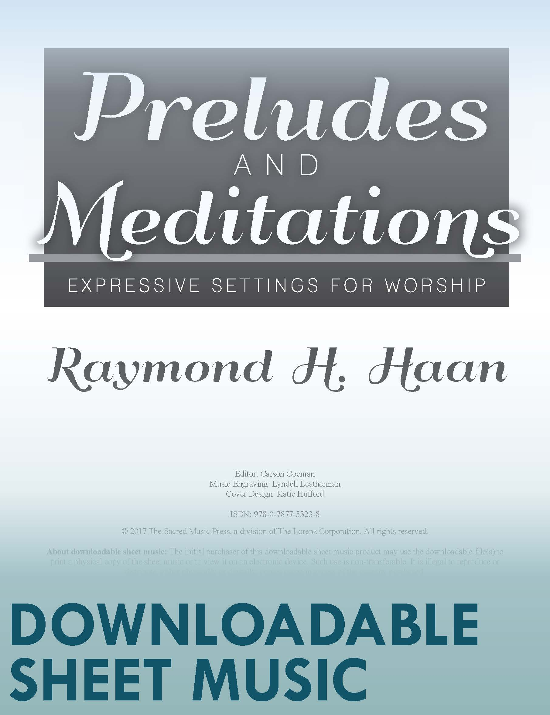 Preludes and Meditations (Digital Delivery)