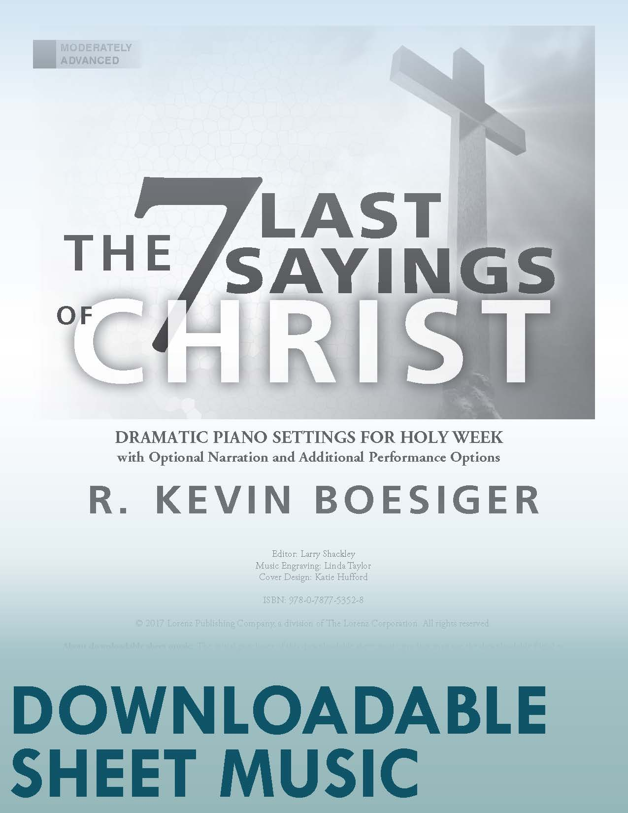 The Seven Last Sayings of Christ - Digital Download