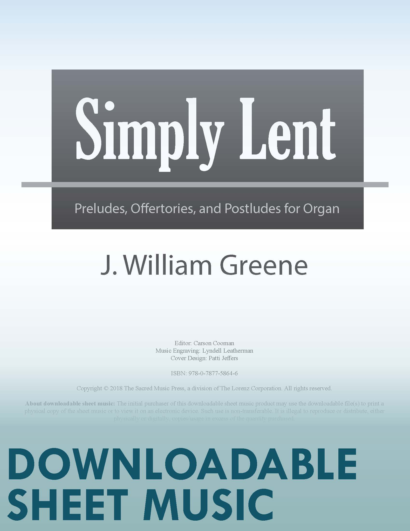 Simply Lent (Digital Delivery)