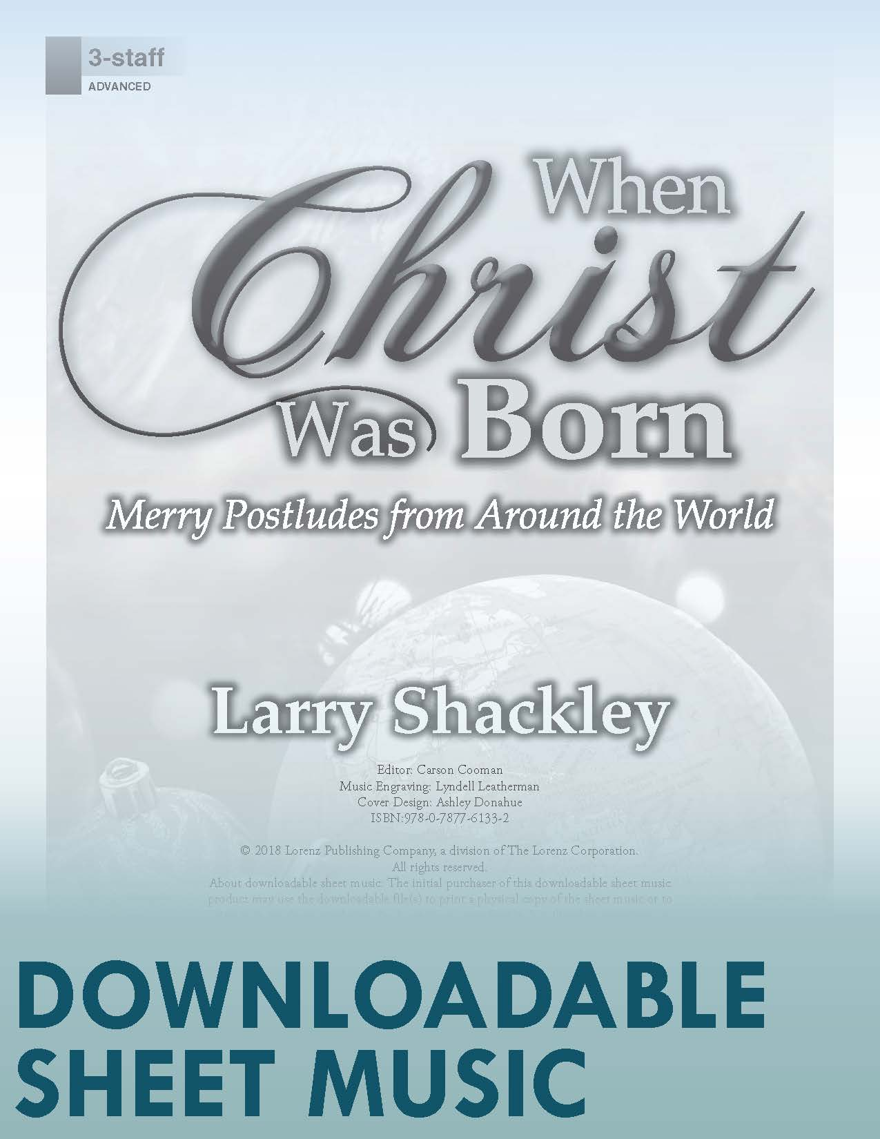When Christ Was Born - Digital Download
