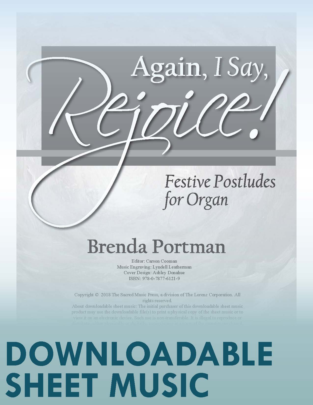 Again, I Say, Rejoice! - Digital Download
