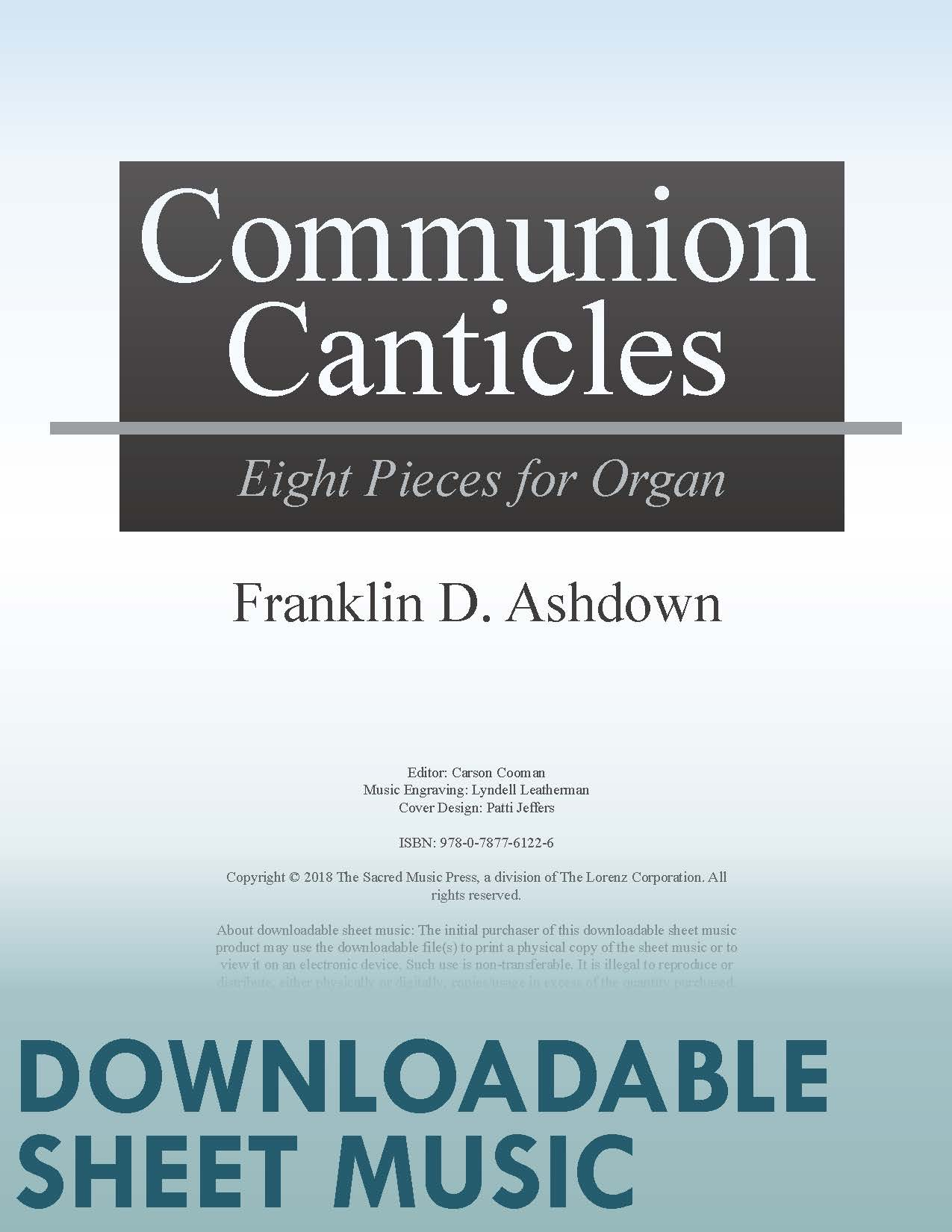 Communion Canticles - Digital Download