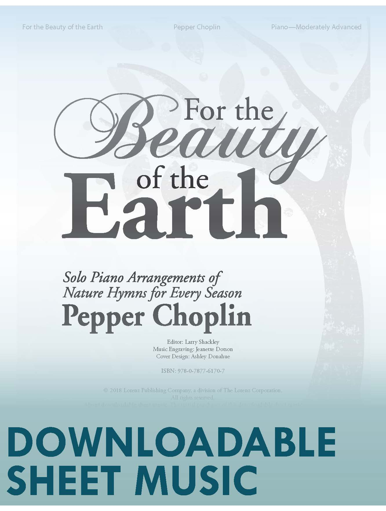 For the Beauty of the Earth - Digital Download