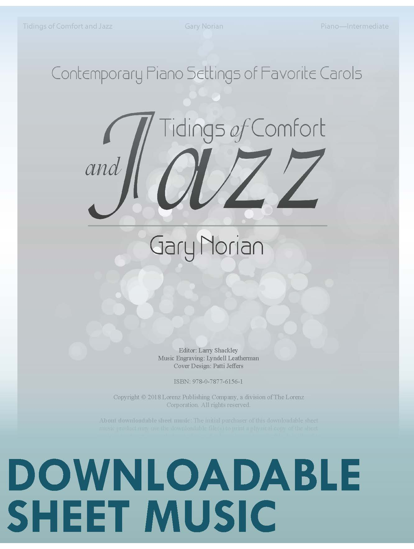 Tidings of Comfort and Jazz - Digital Download