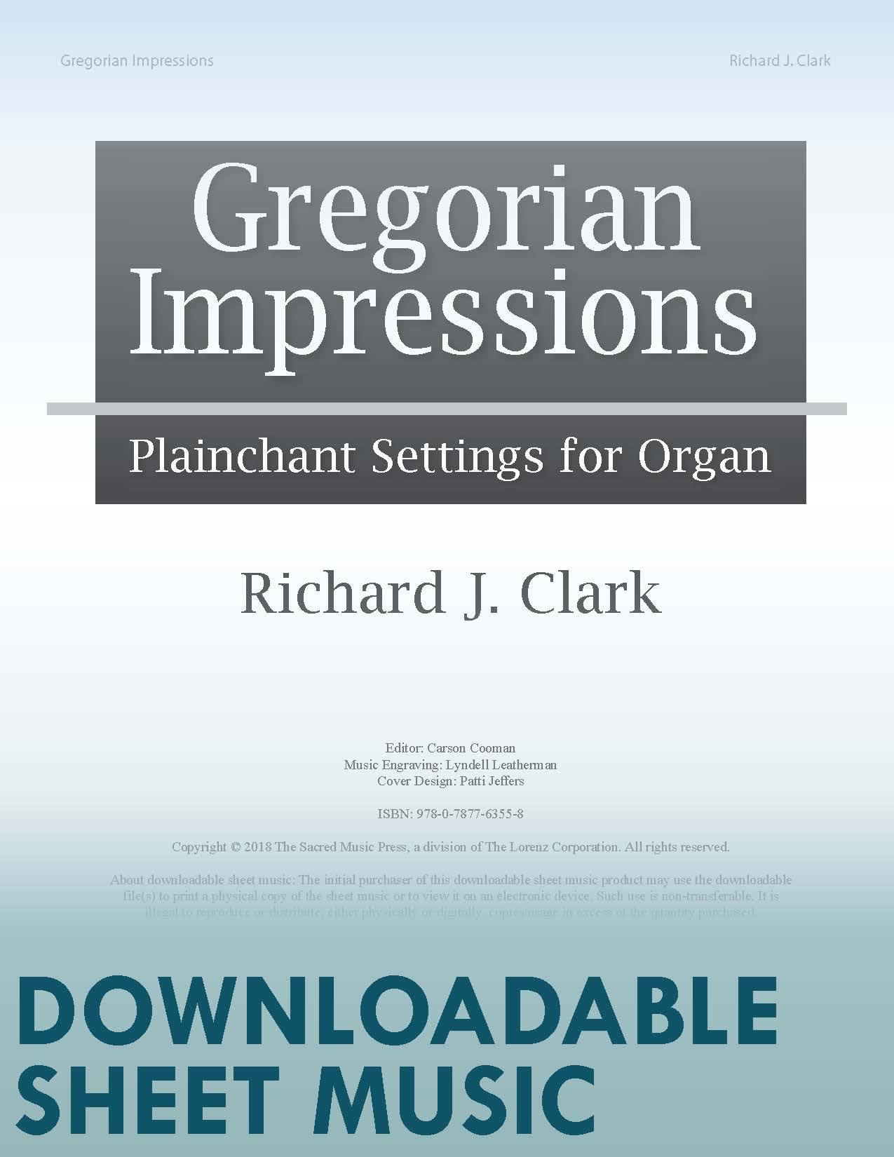 Gregorian Impressions - Digital Download