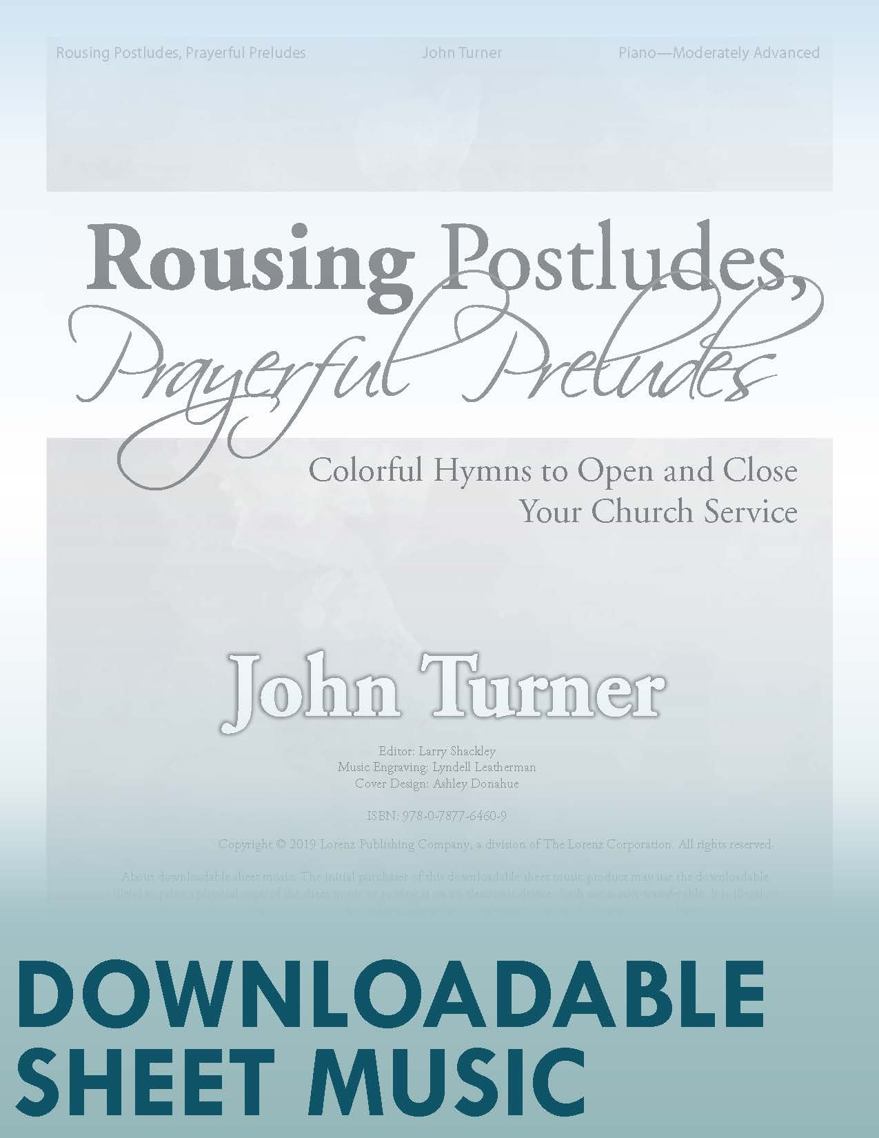 Rousing Postludes, Prayerful Preludes - Digital Download