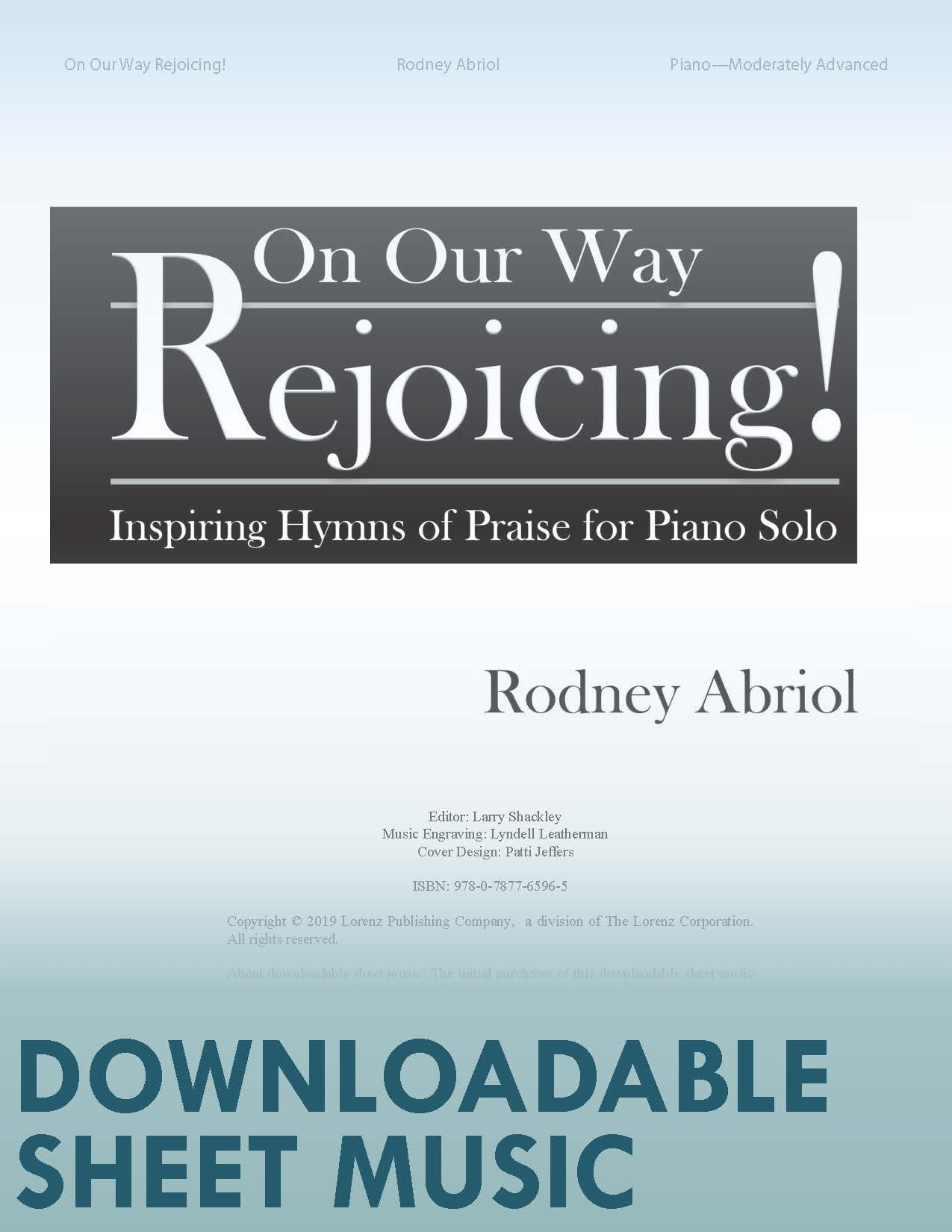 On Our Way Rejoicing! - Digital Download