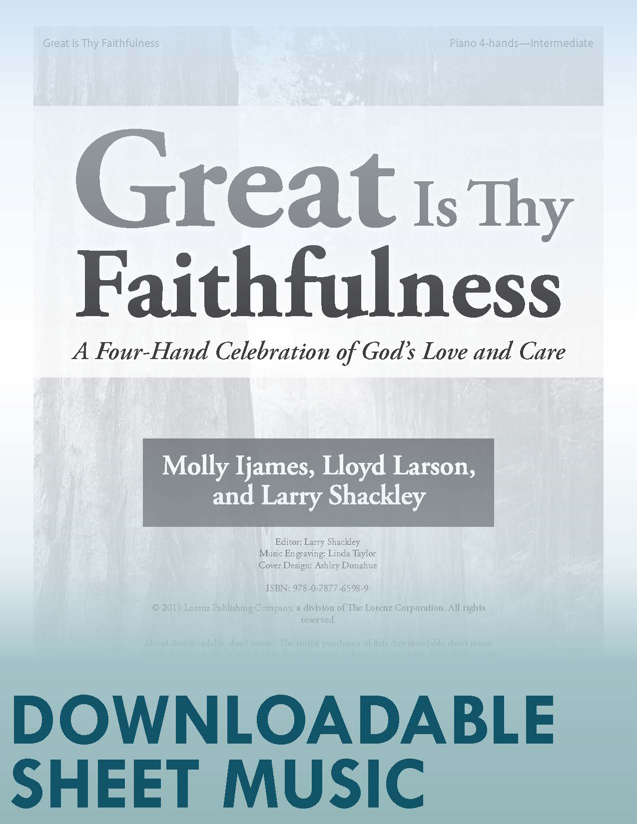 Great Is Thy Faithfulness - Digital Download