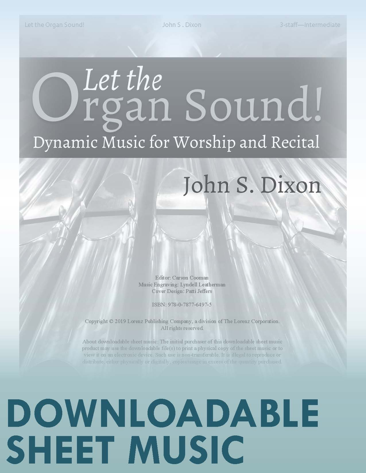 Let the Organ Sound! - Digital Download