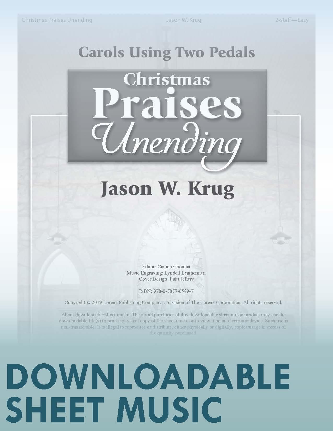 Christmas Music Downloadable.Christmas Praises Unending Digital Download