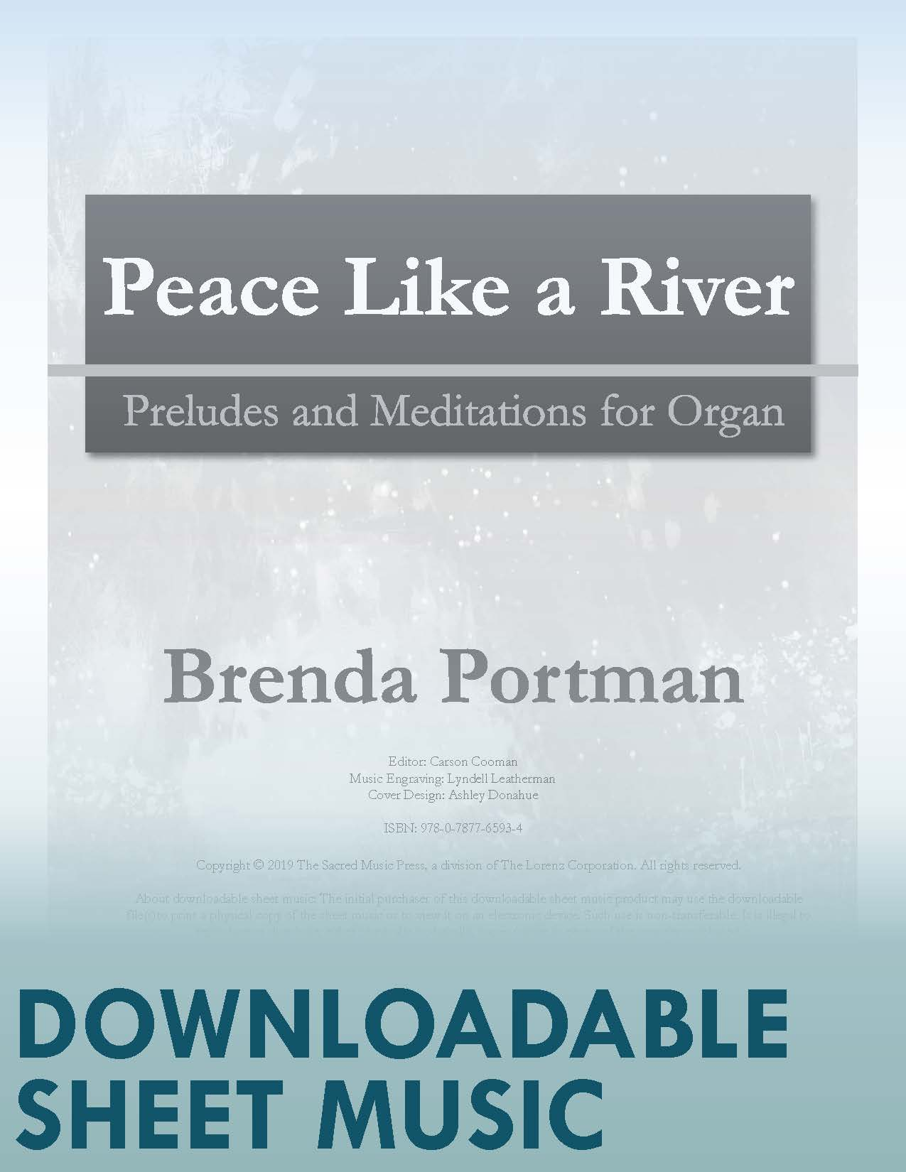 Peace Like a River - Digital Download