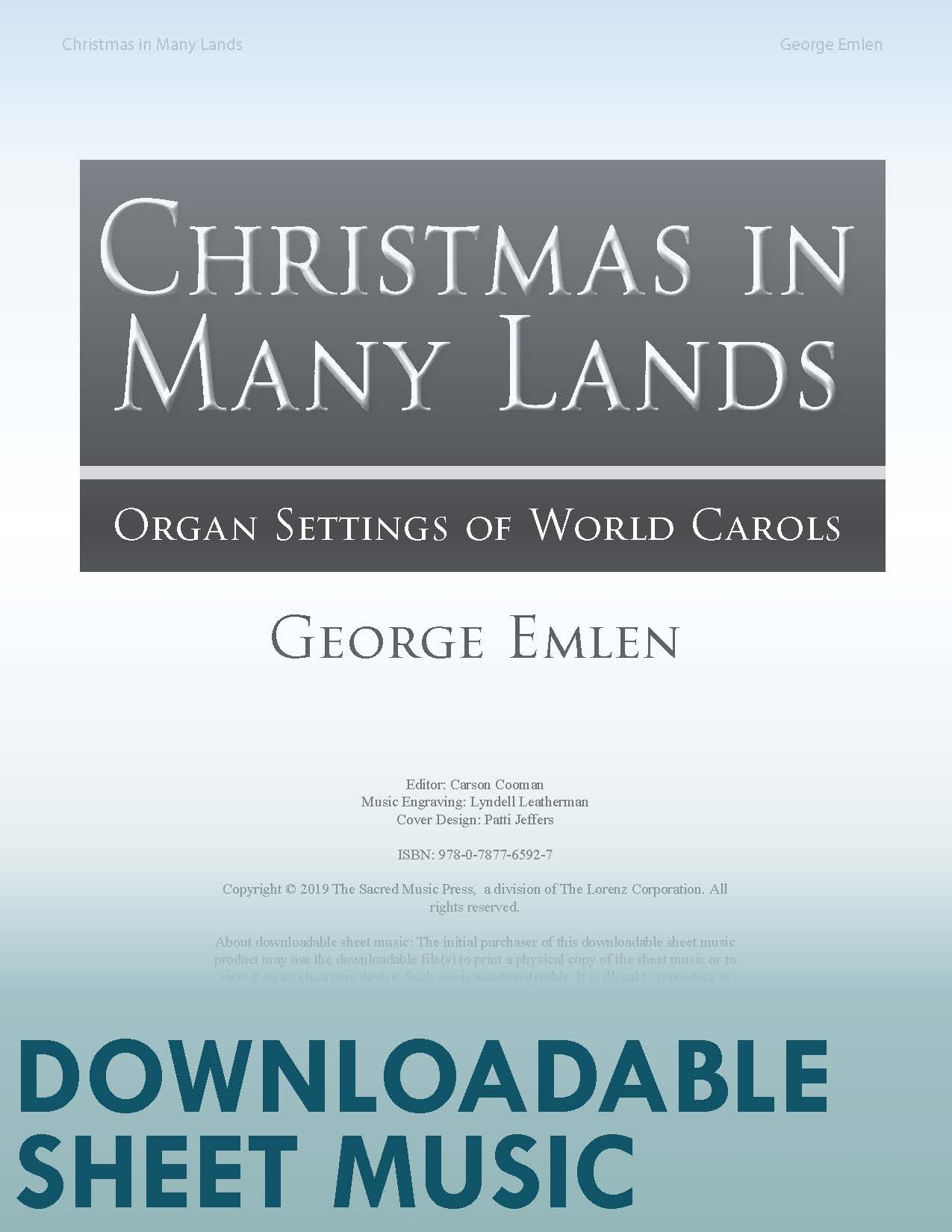 Christmas in Many Lands - Digital Download