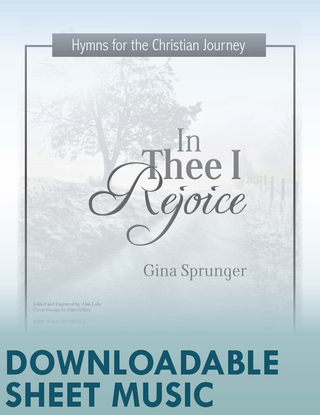 In Thee I Rejoice - Digital Download