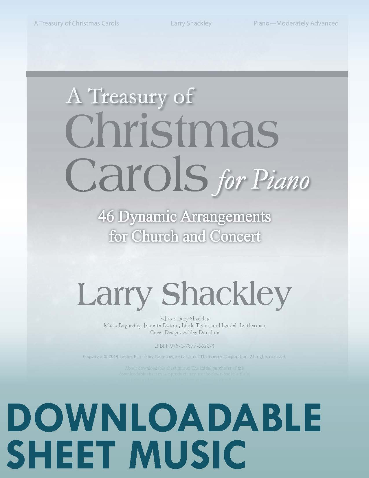 A Treasury of Christmas Carols for Piano - Digital Download