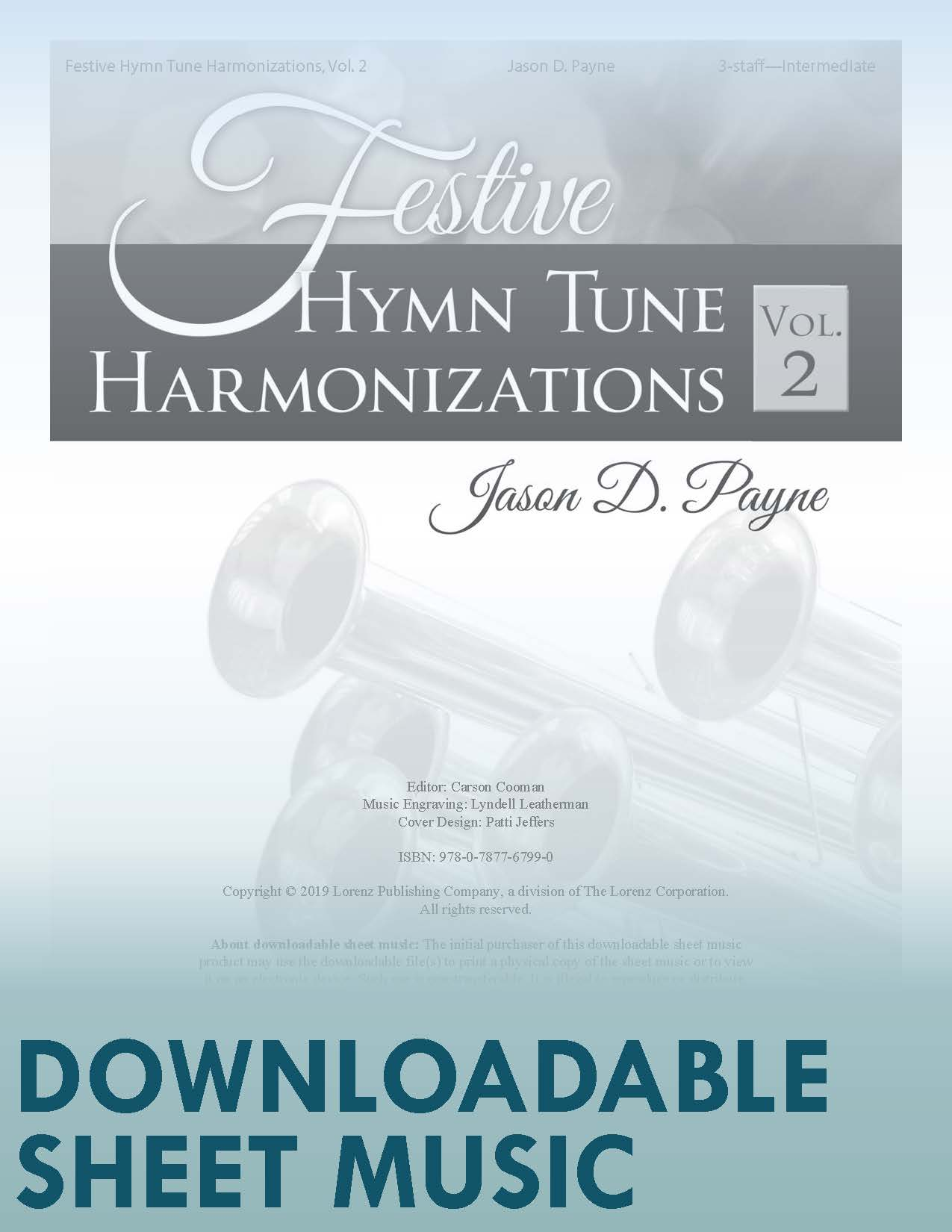 Festive Hymn Tune Harmonizations, Vol. 2 - Digital Download