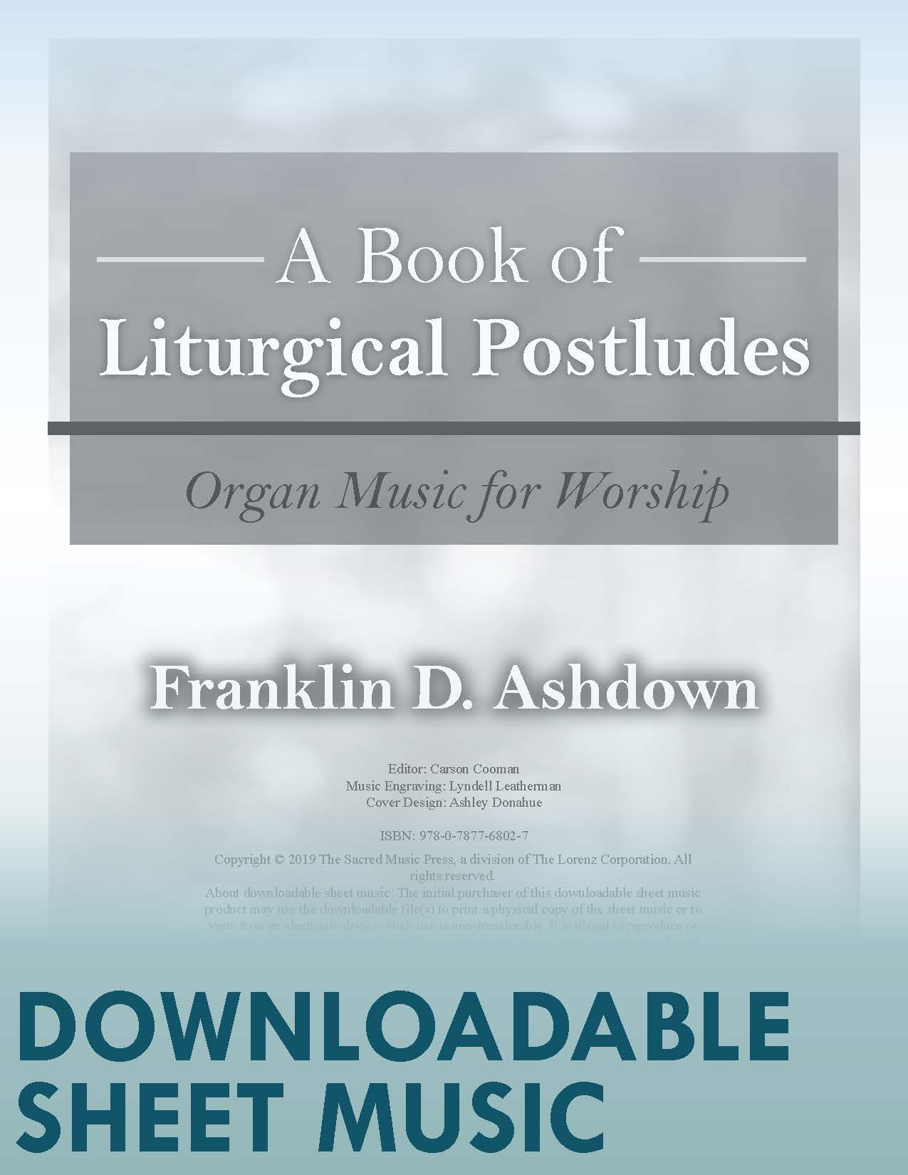 A Book of Liturgical Postludes - Digital Download