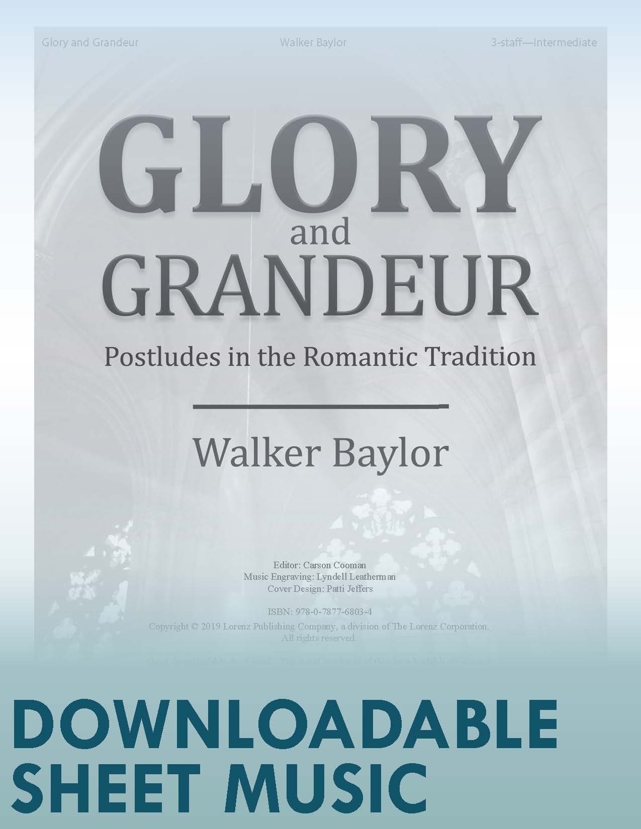 Glory and Grandeur - Digital Download