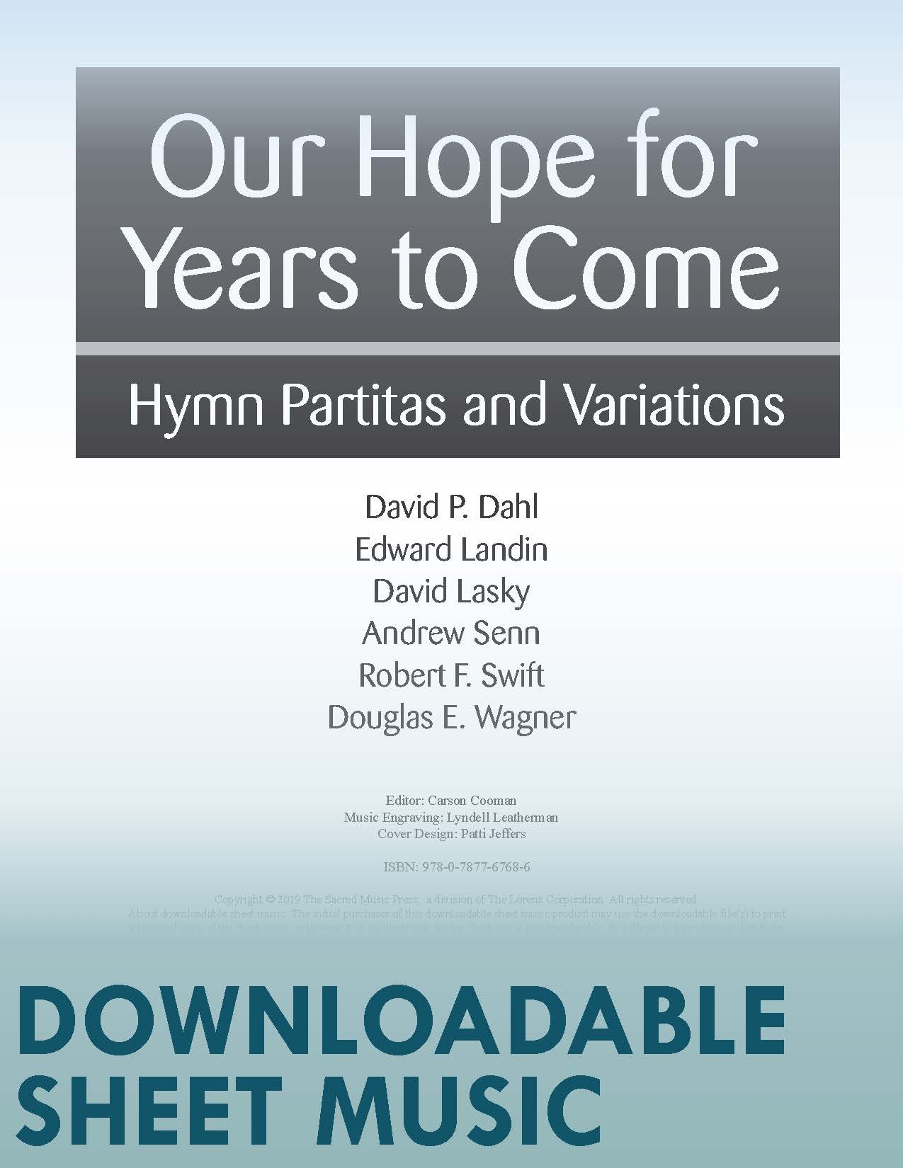 Our Hope for Years to Come - Digital Download
