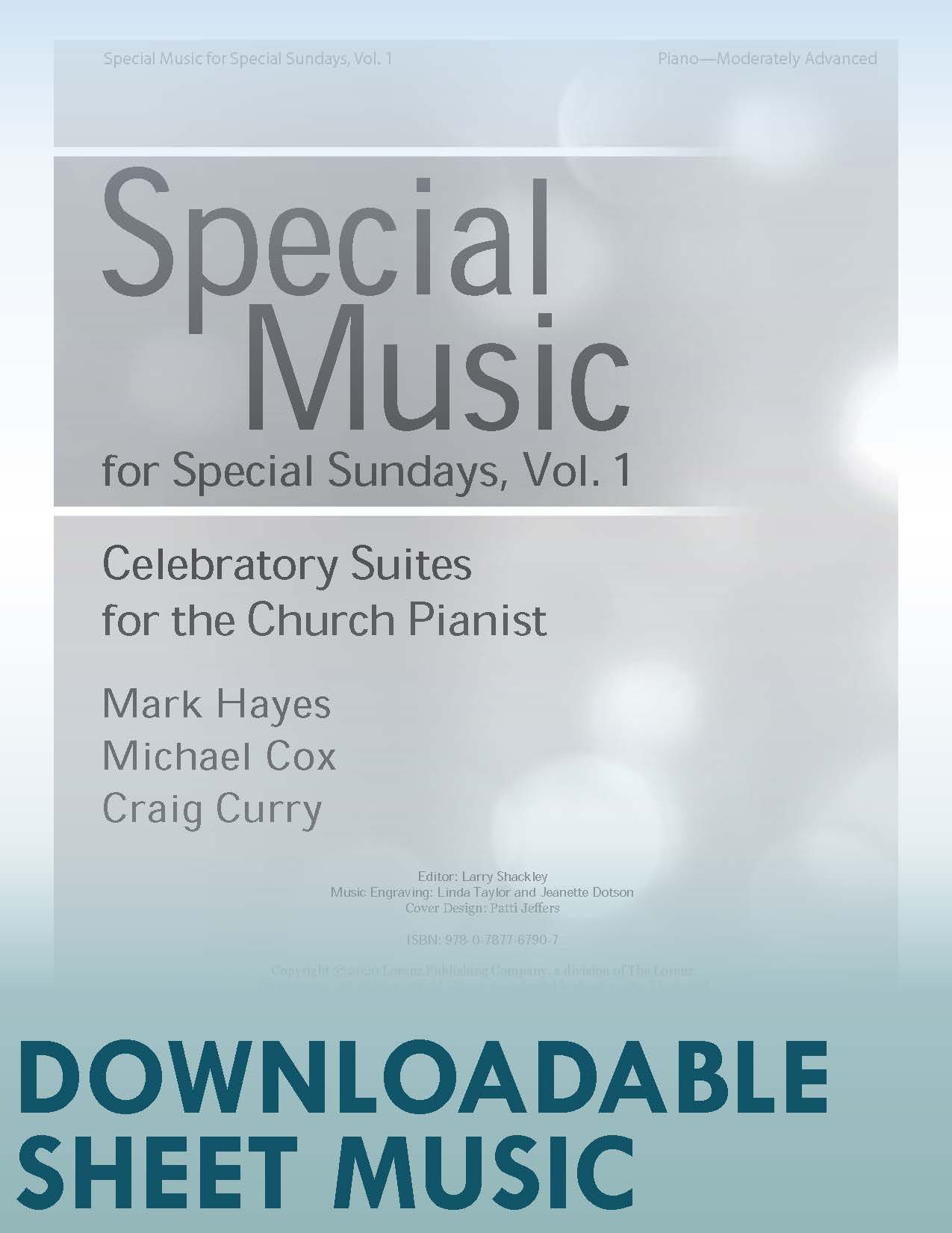 Special Music for Special Sundays, Volume 1 - Digital Download