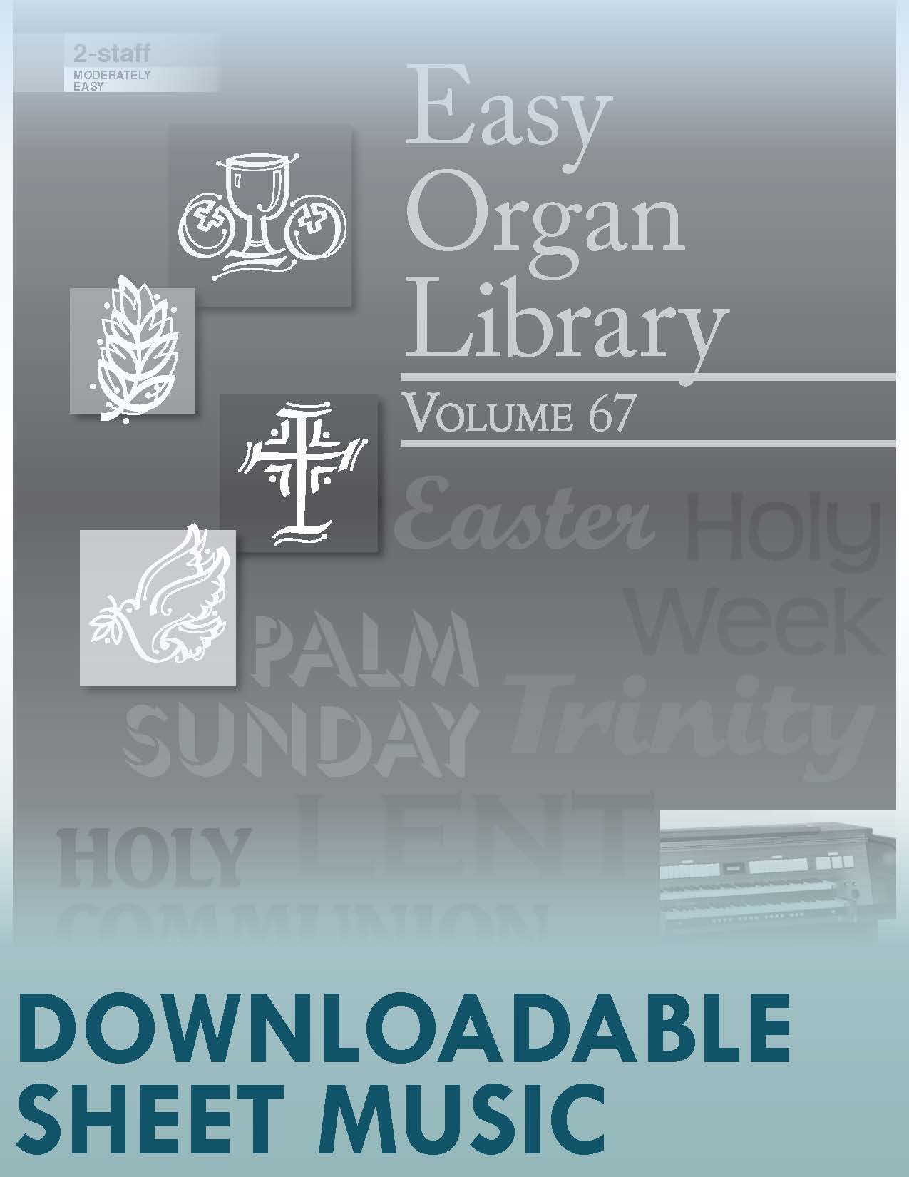 Easy Organ Library, Vol 67 - Digital Download
