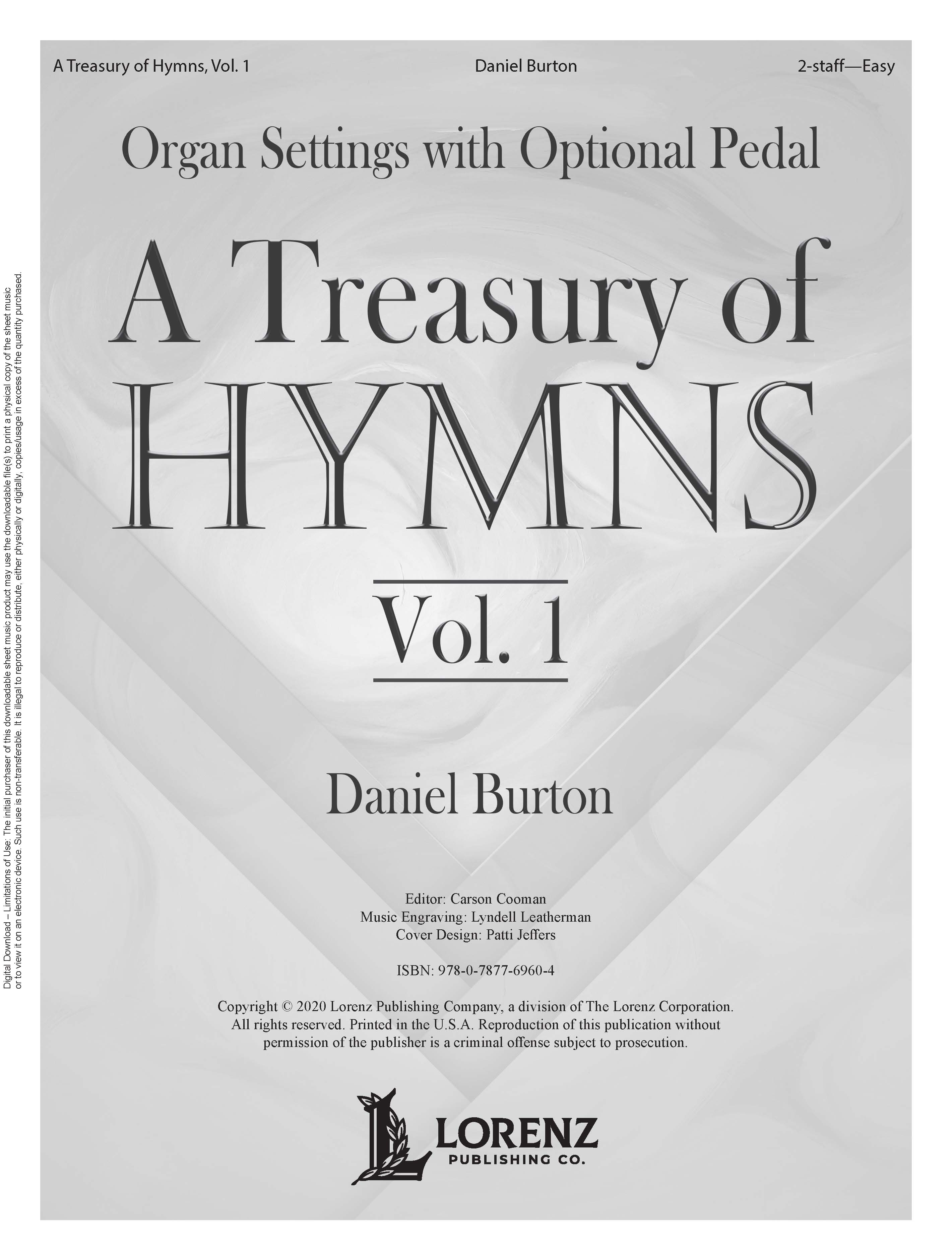 A Treasury of Hymns, Vol. 1 - Digital Download