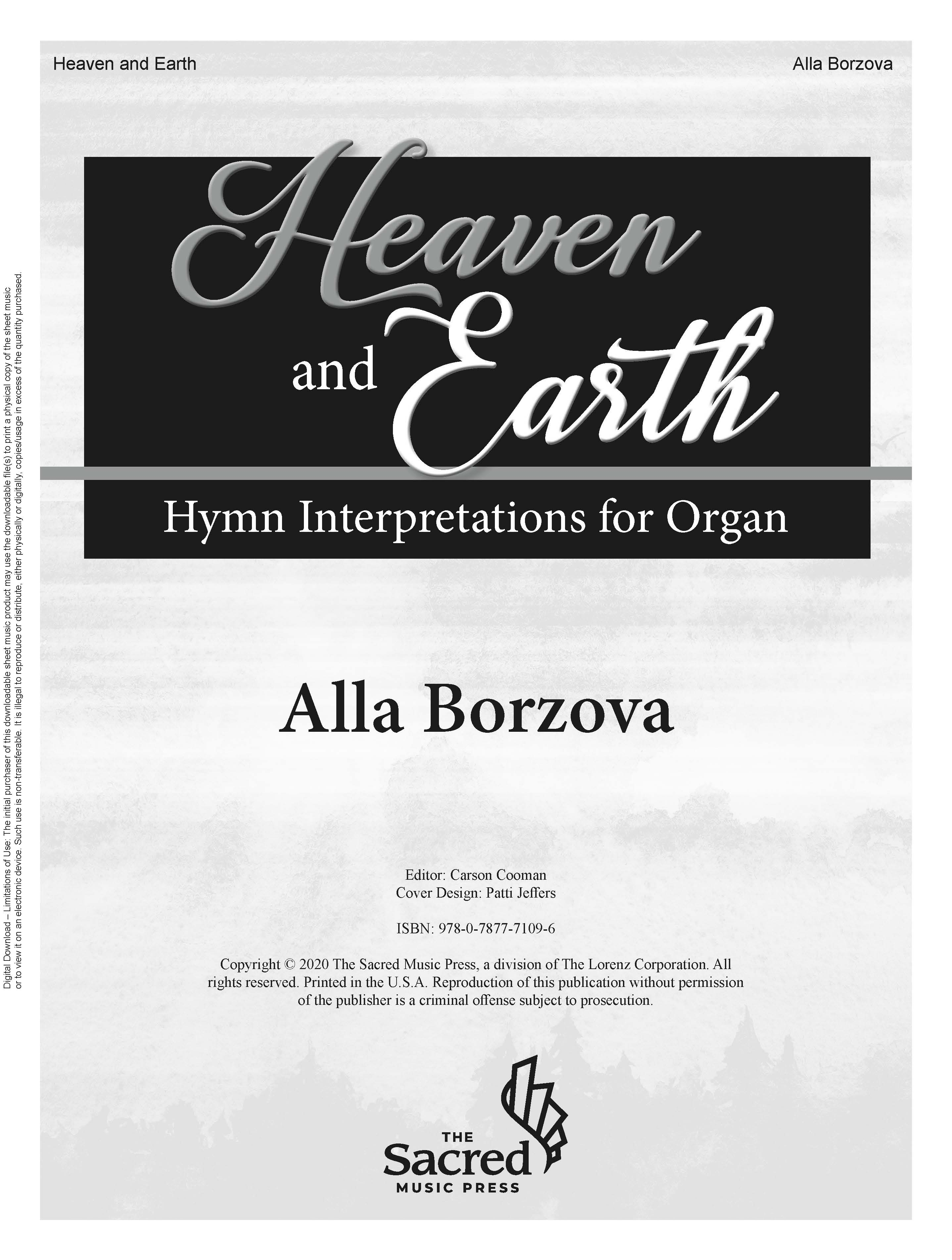 Heaven and Earth - Digital Download