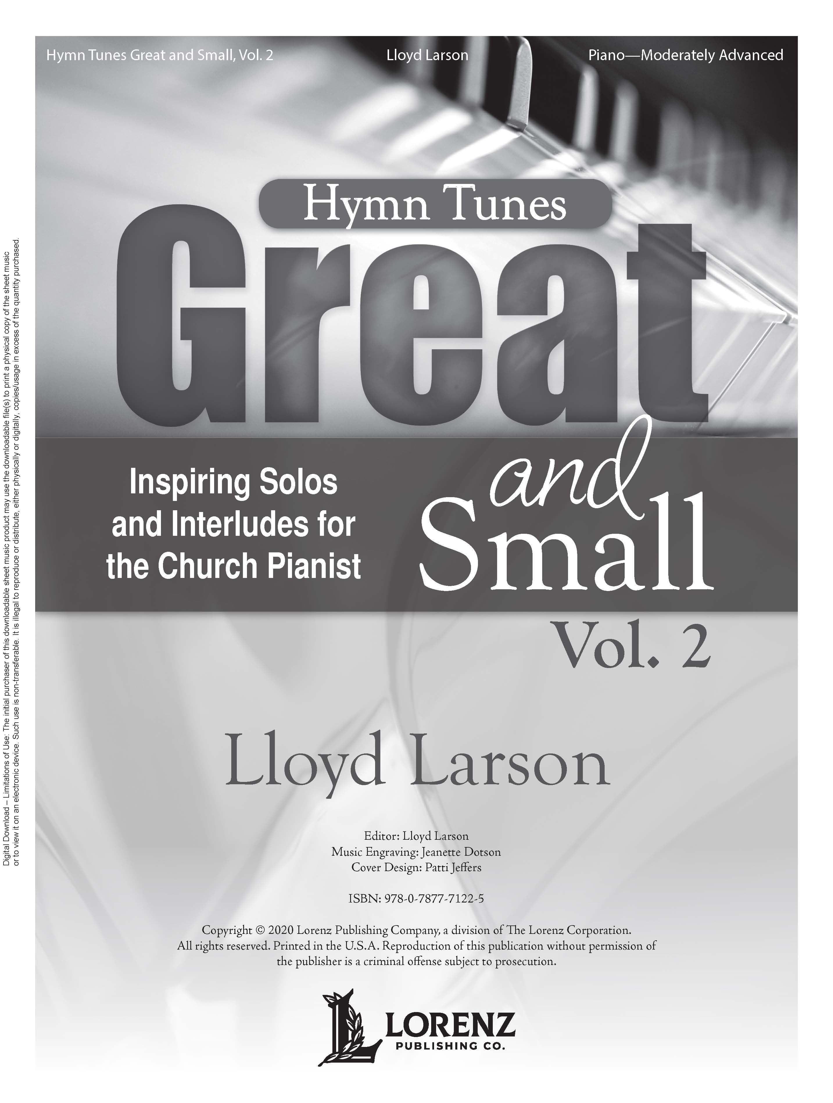 Hymn Tunes Great and Small, Vol. 2 - Digital Download