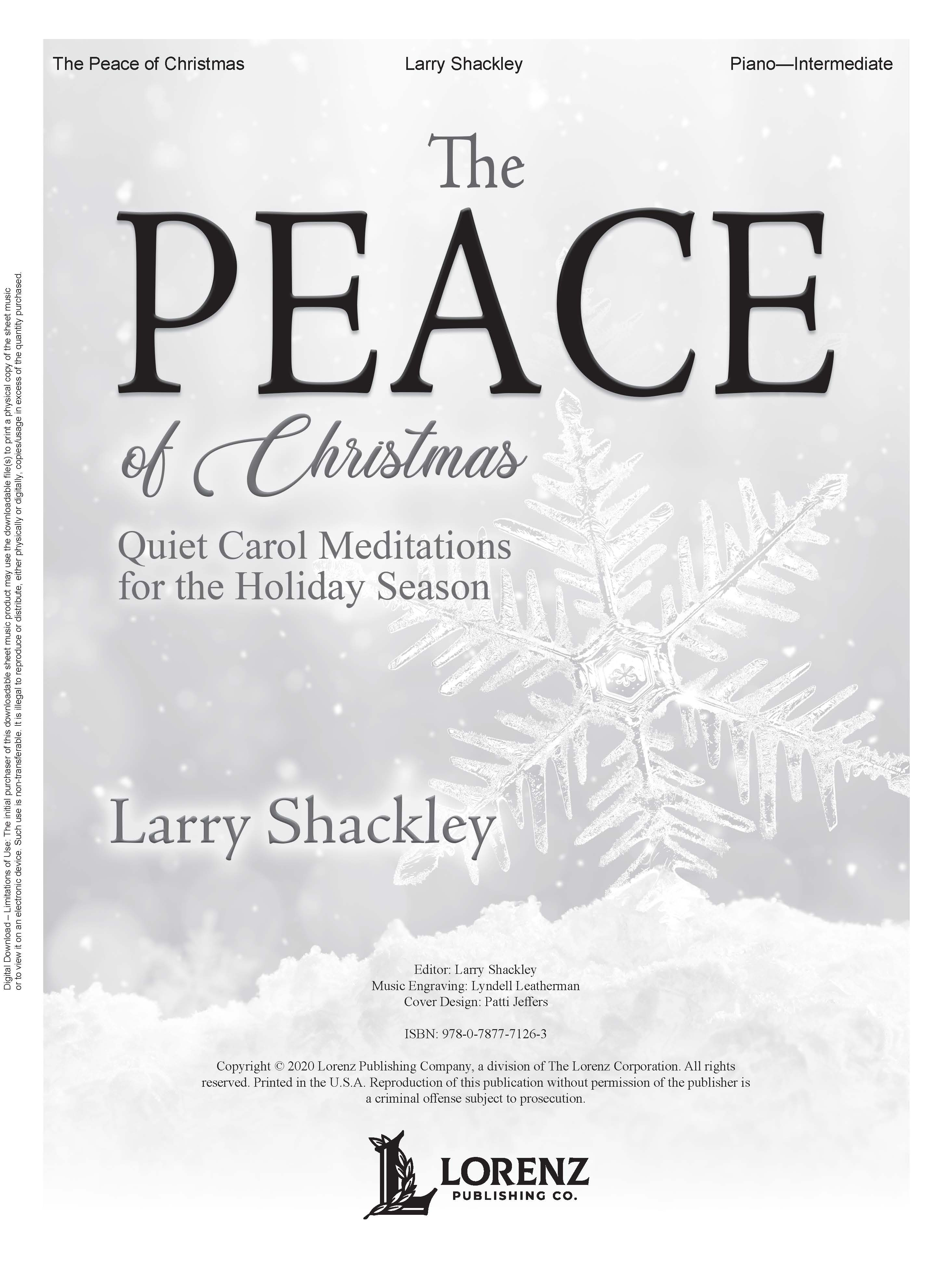 The Peace of Christmas - Digital Download