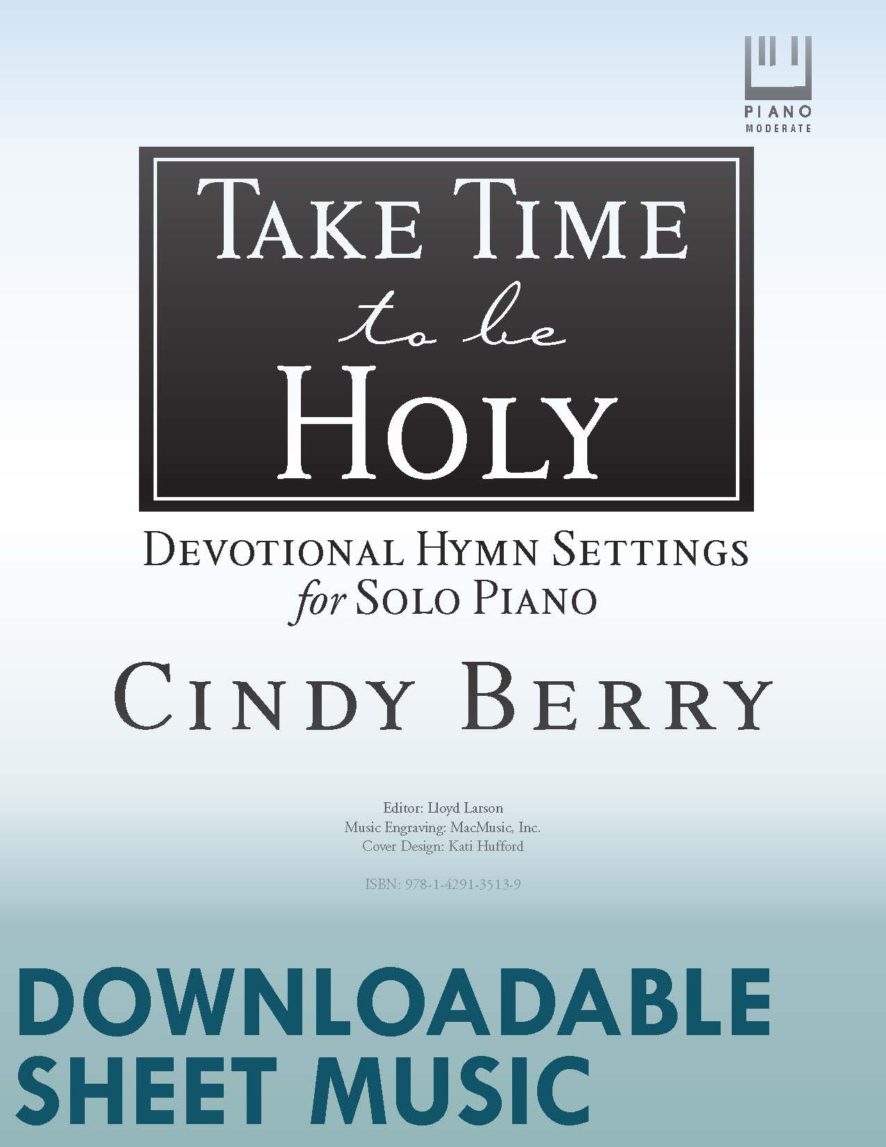 Take Time to Be Holy - Digital Download