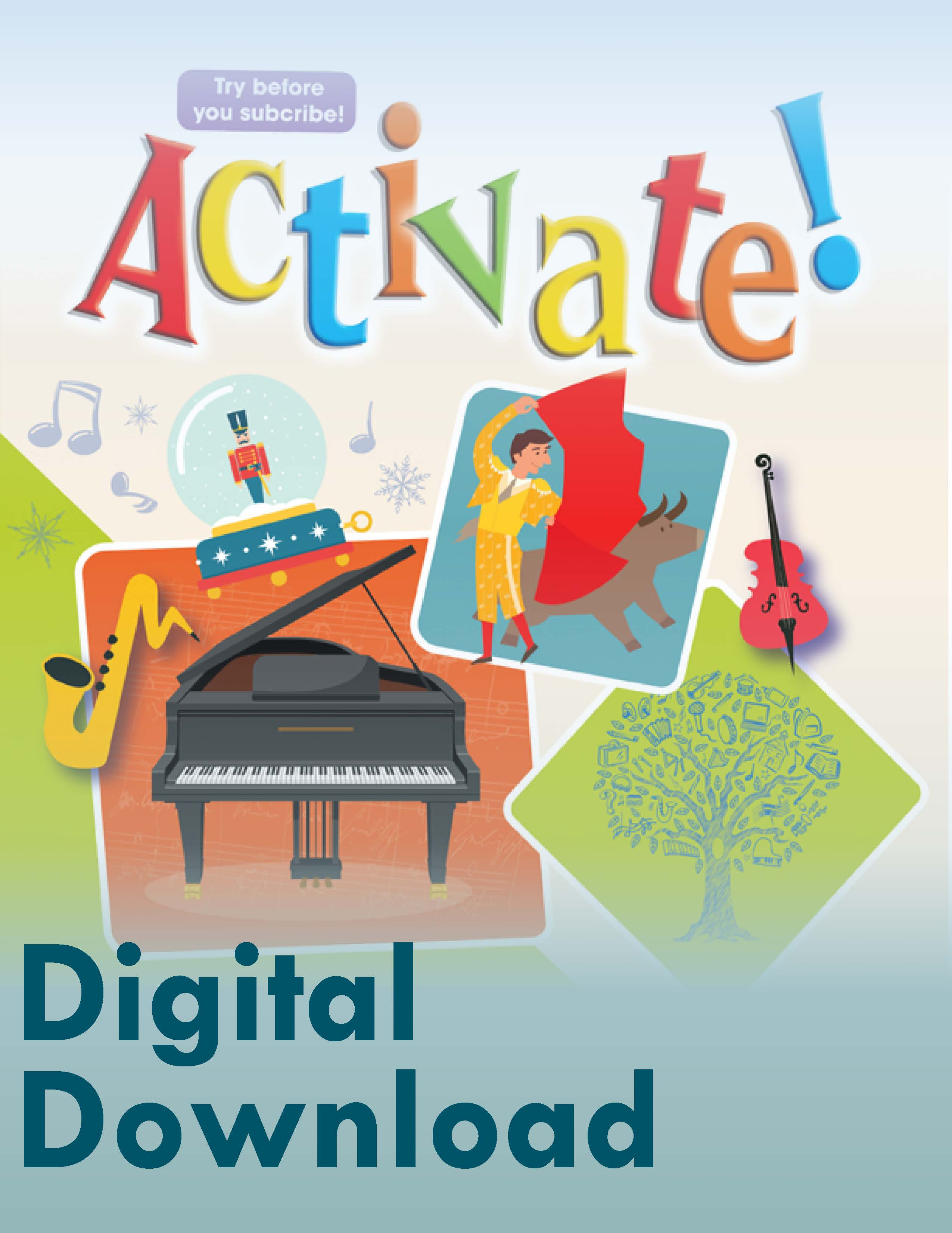 Fall 2019 Activate! Sampler - Digital Download