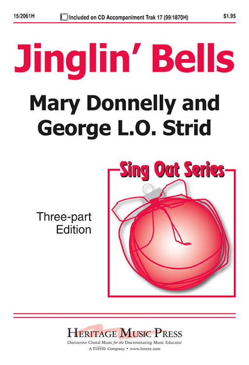 Jinglin' Bells : SAB : Mary Donnelly : Mary Donnelly : Sheet Music : 15-2061H : 000308101799
