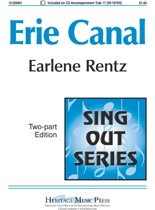 Erie Canal : 2-Part : Earlene Rentz : Earlene Rentz : DVD : 15-2068H : 000308101812