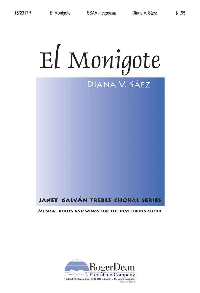 El Monigote : SSAA : Diana V Saez : Diana V Saez : Sheet Music : 15-2317R : 9780893287450