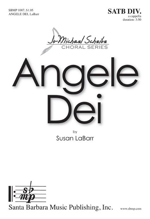 Angele Dei : SATB divisi : Susan LaBarr : Susan LaBarr : Sheet Music : SBMP1087 : 608938358752