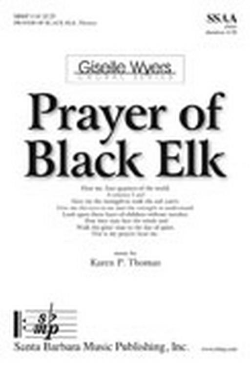 Prayer of Black Elk : SSAA : Karen P Thomas : Karen P Thomas : Sheet Music : SBMP1118 : 608938359131