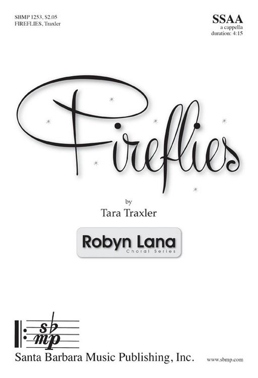 Fireflies : SSAA : Adam Young : Adam Young : Sheet Music : SBMP1253 : 608938360489