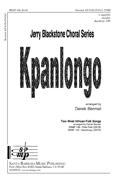 Kpanlongo : TTBB : Derek Bermel : Sheet Music : SBMP186
