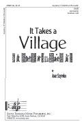 It Takes a Village : SATB : Joan Szymko : Joan Szymko : Sheet Music : SBMP331 : 964807003315