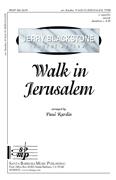 Walk in Jerusalem : TTBB : Paul Rardin : Paul Rardin :  1 CD : SBMP348 : 964807003483